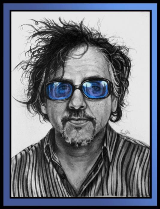 Tim Burton by pamela